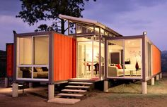 Benjamin Garcia Saxe is my hero. Here is his Shipping Container house, which retails: $40K