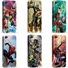 No, cool super hero covers. Your tricks won't work on me, I still don't want an iPhone. But do you come in atrix 2 form please please please?