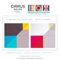 Cirrus Solids BOM Challenge Winner | June 2015