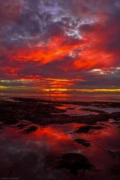 Virga By Kodyak Eyeland  San Diego Sunsets  composition, content, palette