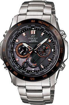 Casio Edifice#Orange Arrow Series Watch EQW-T1010DB-1A5