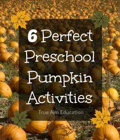 Looking for Pumpkin Activities? #SuliaMoms #preschool