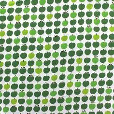 Tissu London Calling 6 - Vert x 10cm