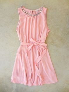 Pink Meadow Grass Party Dress