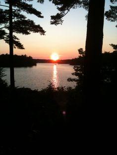 Lake Muskoka Summer Sunset