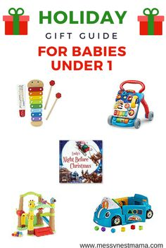 Gift guide for babies under 1, what to buy for kids under 1