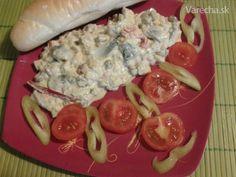 Rybací šalát-Fantastico (fotorecept) Ale, Dips, Salads, Meat, Chicken, Ethnic Recipes, Food, Sauces, Ale Beer