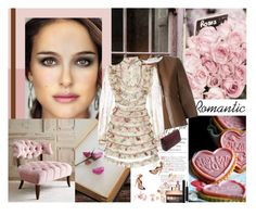 """""""Romantic"""" by cybelfee ❤ liked on Polyvore featuring Marni, Zimmermann, Aquazzura, Clarins and Christian Dior"""