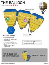 Skylanders Universe - printables: make an air balloon, a well and little hut, a portal of power, etc.