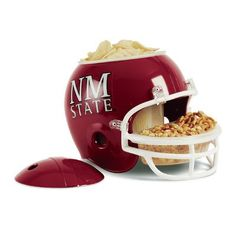Wincraft NCAA Snack Helmet Chip & Dip Tray II NCAA Team: University of New Mexico State