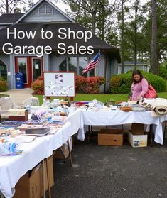 Home Staging Tips: How to Shop Garage Sales Like a Pro! Yard Sale Signs, Home Staging Tips, Sell Your House Fast, Good Tutorials, Old Dressers, Consignment Shops, City Beach, Wood Veneer, Old Houses