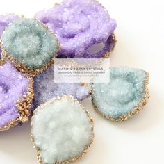 """Although I knew about the crazy experiment of making borax crystals, it was when I saw the crystal topped jewelry box project over on Etsyby Amanda Kingloff that my love affair with the craft was reignited. Check out the Etsy blog for the how to but I've also done a little video* of how I made mine. Some tips – if the crystals don't work, which in my case once they didn't, I re-heated the water, and added more borax to the mix. Also, I found that pipe cleaners that had more """"air"""" to them…"""