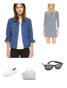 An easy to wear day dress and a comfy pair of slip on sneakers?  Yes please~