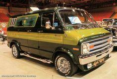 """""""Evil Ways"""" Custom 70's Dodge van"""