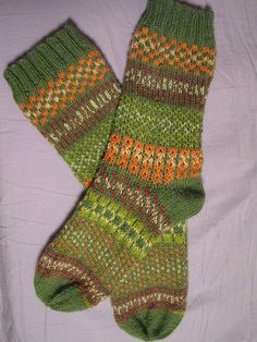A finished fair isle pair! by nicole.hindes, via Flickr