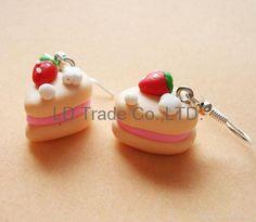 miniature food items | FIMO/polymer clay charm/mini food/candy/hamburger/cake/bread (China ...