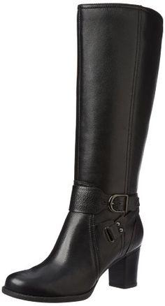 Clarks Women's Jolissa Lapis Knee-High Boot,Black,6 M US Clarks,http://www.amazon.com/dp/B00AWMSJUO/ref=cm_sw_r_pi_dp_89gIsb0467K053GS