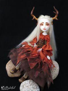 Beautiful Doll ooak Monster High repaint