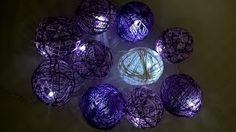 Pomysły plastyczne dla każdego, DiY - Joanna Wajdenfeld: Mini lampki cotton ball
