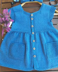 Knit Dress, Knitting Patterns, Sweaters, Baby, Outfits, Tops, Dresses, Women, Annie