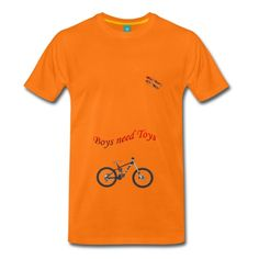 Boys need Toys Randy Design - Männer Premium T-Shirt