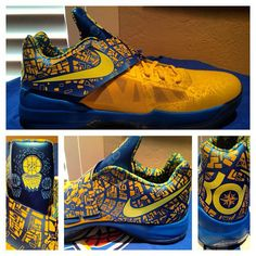 92cd0f0d94c Nike Zoom KD IV - Scoring Title Kevin Durant Shoes