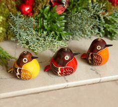 Bird Gourd Ornaments