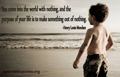 """Making """"something"""" out of """"nothing"""" Inspirational Words Of Wisdom, Swimming, World, Life, Swim, The World"""