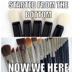 You can't imagine what life would be like without those 108,587 makeup brushes taking up your entire vanity, that take over 2 hours to clean. | 50 Shades Of Contour: 10 Signs That The Universe Is Telling You To Buy More Makeup