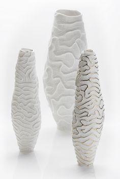 FOSSILIA Vase by Fos Ceramiche