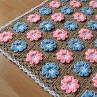 New pattern crochet 3d flower baby blanket pattern zoom yummy