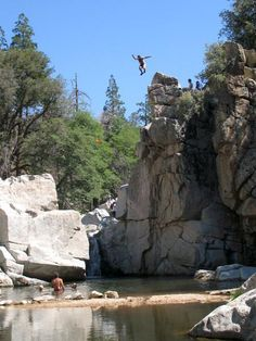 OYEAAAA Top Five Spots for Cliff Jumping in Southern California