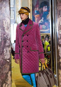The Gucci Cruise collection 2018.