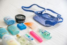 What to Pack in Your Toiletry Bag: Travel Toiletry Essentials – EzPacking, Inc Tote Bag Organizer, Handbag Organization, Travel Organization, Toiletries List, Packing Toiletries, Packing Tips, Travel Packing, Travel Tips