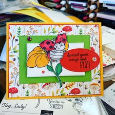 Custom cards for the special people in your life. Hand Made Greeting Cards, Making Greeting Cards, Bee Cards, Kids Birthday Cards, Stamping Up Cards, Animal Cards, Custom Cards, Kids Cards, Scrapbook Cards