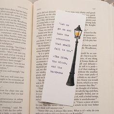 Chronicles of Narnia Bookmark - Typewriter - CS Lewis - Bookmark