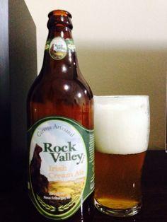 Cerveja Rock Valley Irish Cream Ale, estilo Cream Ale, produzida por Rock Valley Bier, Brasil. 6% ABV de álcool.