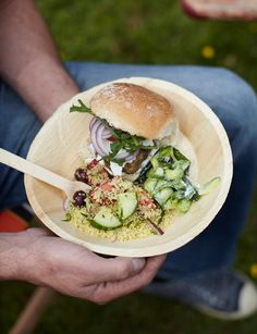 Lamb burgers with spring onions and feta - gorgeous summer food