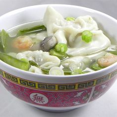 """Homemade Wonton Soup I """"My husband said it was the best won ton soup he's ever had and we live in a city with a lot of great authentic Chinese restaurants."""""""