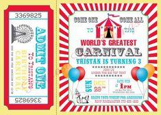 carnival-birthday-party-invitations-circus-girl-or-boy-birthday-bridal-baby-shower-invitation-wedding-red-blue-yellow.jpg (570×407)