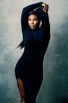 Serena Williams photographed by Norman Jean Roy for New York Magazine.