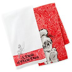 Tinker Bell Dish Towel Set. Disney store $20