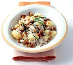 Gnocchi mit Pfifferlingen und Salbei (Best Food Ideas)