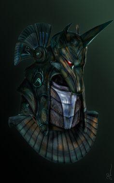 StarGate Anubis Guard by parvudan on deviantART