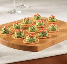 These Mexican Cheese Crisps with Avocado is the perfect and quick appetizer to serve at your Game Day Fiesta! www.ortega.com