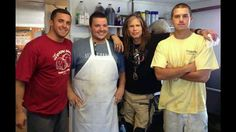 Sesuit Harbor Cafe...look who dropped by for lunch today!