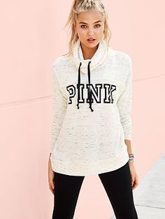 For her - Victoria's Secret Pink Cowl-Neck Pullover