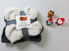 Super Soft Dog Luxury Blankets with a Bit of Christmas Dog Toy Fun! - Adog.co  - 1
