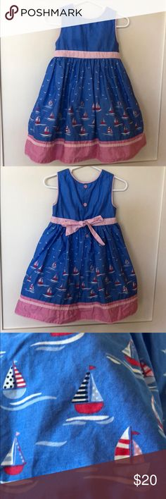 Jojo Mama Bebe sailboat dress (fancy!) A perfect springtime church or wedding dress. An underskirt with tulle gives a bit of flare. JojoMamaBebe Dresses Formal