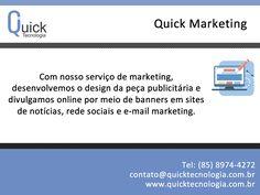 Com nosso serviço de marketing desenvolvemos o desing da peça publicitária e divulgamos online por meio de banners em sites de notícias de referência, redes sociais e E-mail Marketing.